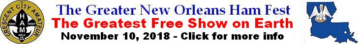 The Greater New Orleans Ham Fest 2018