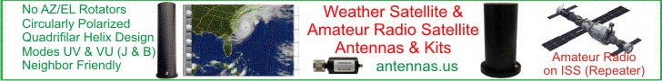 Weather Satellite and Amateur Satellite Antenna Kits