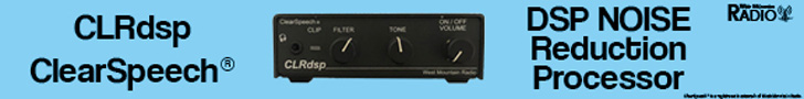 CLRdsp ClearSpeech DSP Noise Reduction Processor from West Mountain Radio